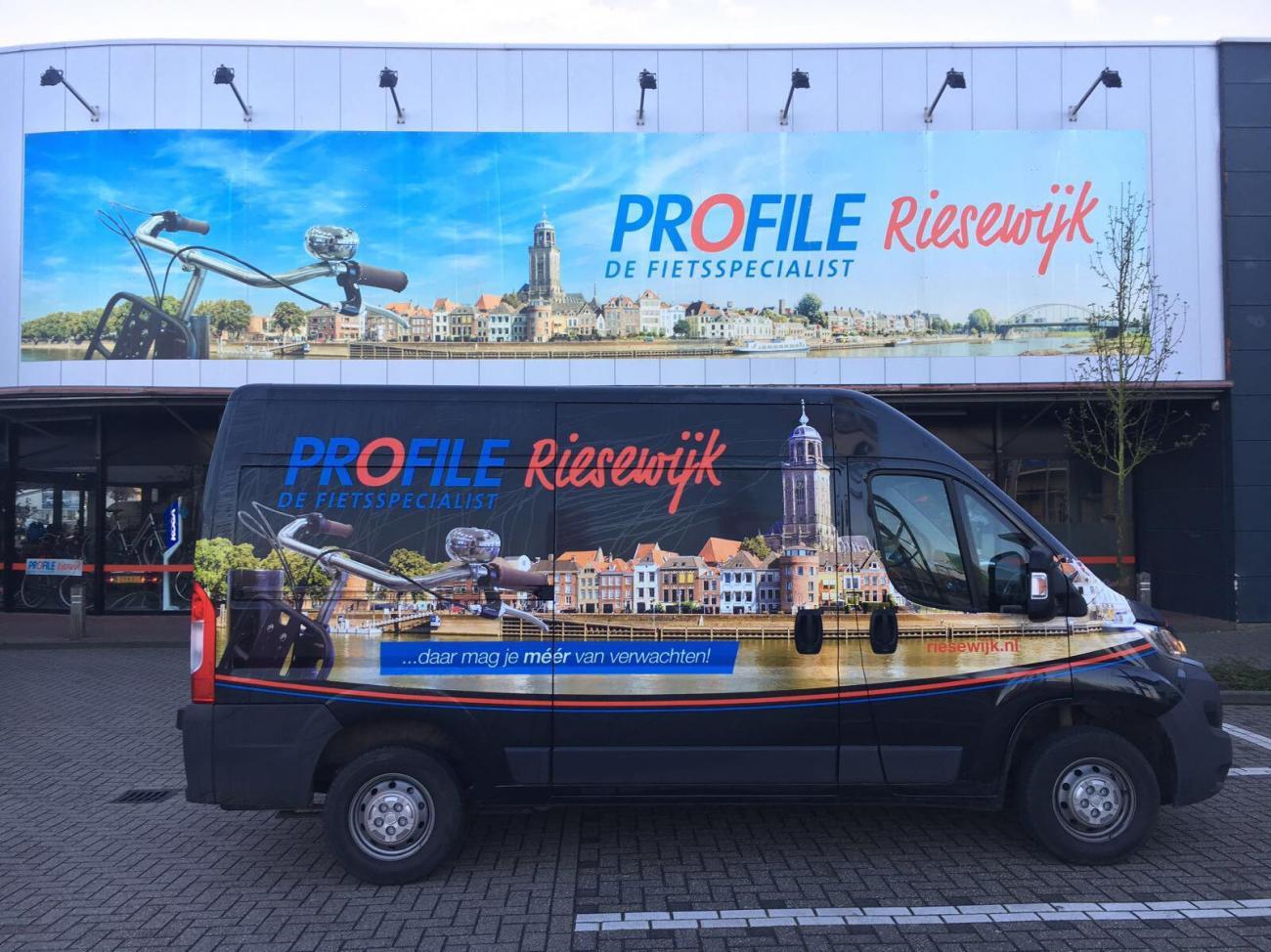 """Profile Riesewijk """"de fietsspecialist"""""""
